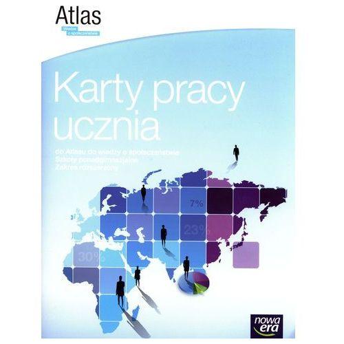Wiedza o spoleczeństwie LO Karty pracy do atlasu. Zakres rozszerzony (2014), oprawa miękka