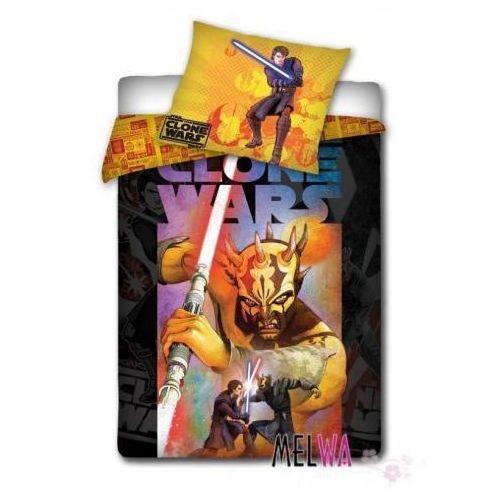Komplet pościel licencyjna dla dzieci bawełniana Star Wars 160/200cm, Dystrybutor Carbotex