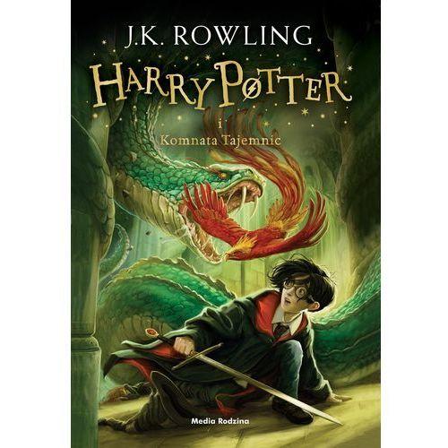Harry Potter i komnata tajemnic BR w.2016 - Joanne Rowling, Media Rodzina