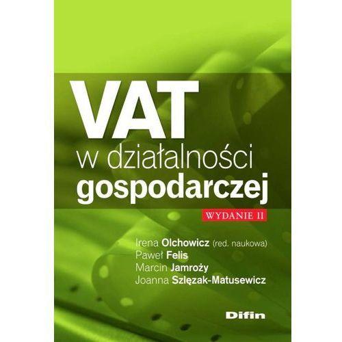 VAT w działalności gospodarczej - Praca Zbiorowa, oprawa miękka