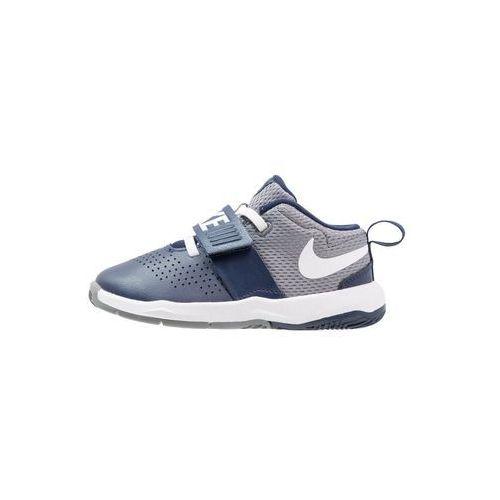 Nike Performance TEAM HUSTLE D 8 Obuwie do koszykówki midnight navy/white/cool grey (0886551094312)
