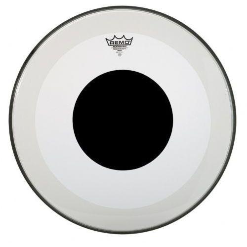 Remo Naciągi Powerstroke 3 Przezroczysty Black Dot 24″ P3-1324-10