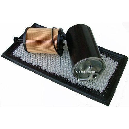 Kpl filtrów - filtr paliwa powietrza oleju Jeep Compass 2,0TD