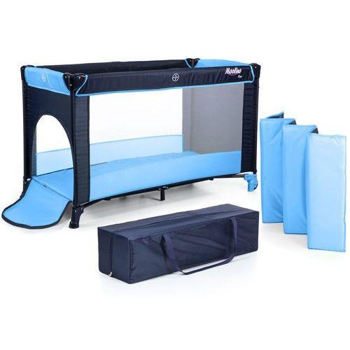 Łóżeczko turystyczne MOOLINO FUN niebieski, P900 N