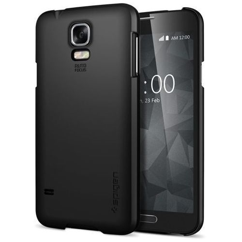 Oryginalna obudowa etui Spigen SGP Ultra Fit Smooth Black Samsung Galaxy S5 (8809404210471)