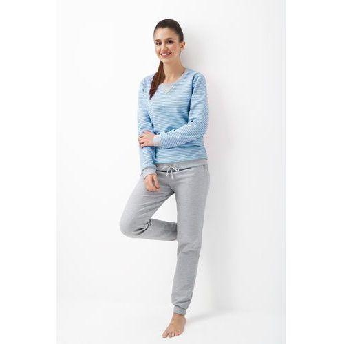 af99d90348219a Dres damski LUNA 301 niebieski, 4635 124,99 zł Dres żeński znanej i  lubianej polskiej firmy LUNA, produkowany został z dzianiny bawełnianej z  dodatkiem ...