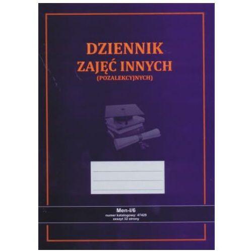 Dziennik zajęć innych [men-i/6] (nowy wzór) marki Firma krajewski