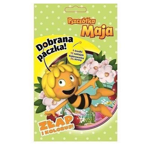 Dobrana paczka. złap i koloruj. pszczółka maja - praca zbiorowa