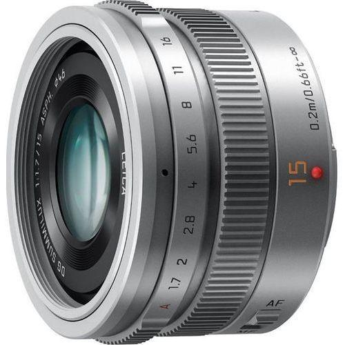 h-x015e 15 mm f/1,7 (srebrny) - produkt w magazynie - szybka wysyłka! marki Panasonic