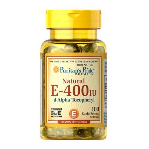 Kapsułki Puritan's Pride Witamina E Naturalna 400IU 100 kaps.