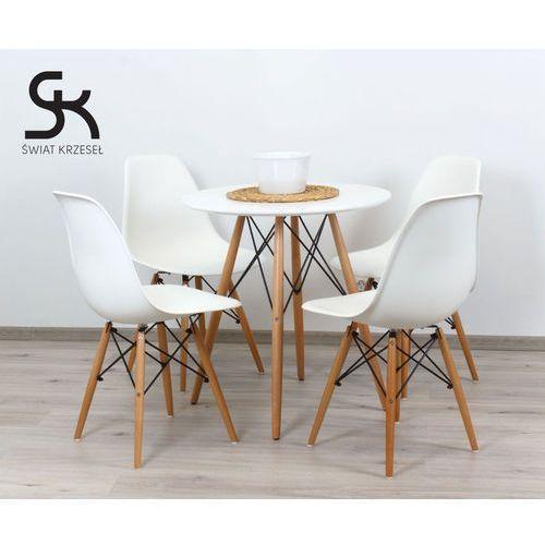 ZESTAW - STÓŁ FI 80 + 4 krzesła DSW - sprawdź w wybranym sklepie