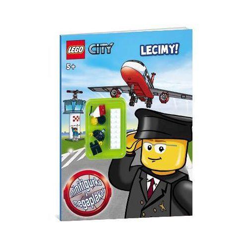 KSIĄŻKA LEGO CITY - LECIMY