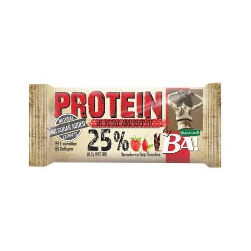 BAKALLAND BA! 45g Baton proteinowy 25% Keep fit