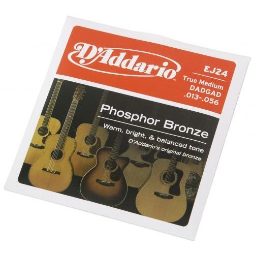 D′addario ej24 struny do gitary akustycznej phosphor bronze, true medium, 13-56