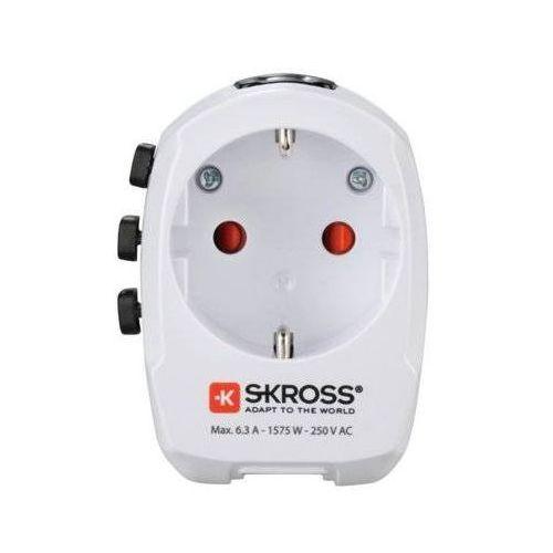 Adapter podróżny world travel pro light 2xusb 001373830000 marki Hama