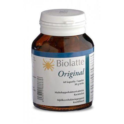 Biolatte Original 60 kaps. Żywe Kultury Ludzkich Bakterii Kwasu Mlekowego Probiotyk (6430015886636)