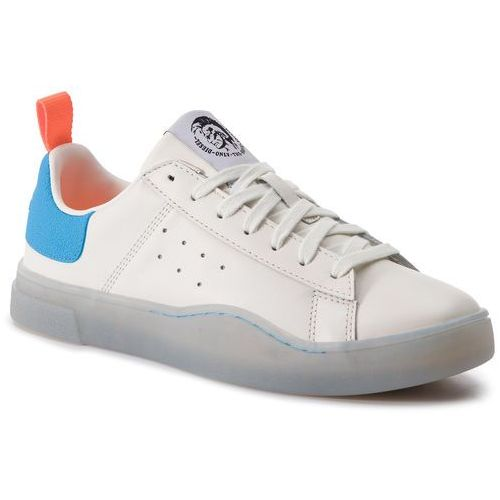 Sneakersy DIESEL - S-Clever Low Y01748 P2282 H7099 Star White/Light Blu, w 6 rozmiarach