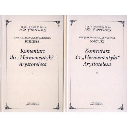 Komentarz do Hermeneutyki Arystotelesa tom 1 i 2 (521 str.)