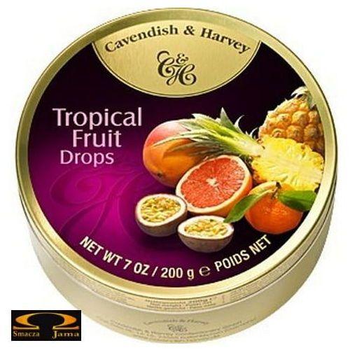 Landrynki owoce tropikalne 200g marki Cavendish & harvey
