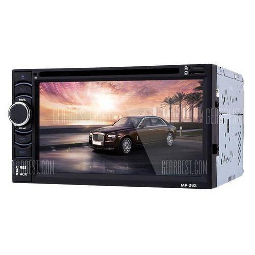362 6.2 inch Car Audio Stereo DVD Player z kategorii Pozostały sprzęt samochodowy audio/video