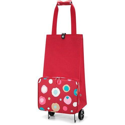 Wózek na zakupy  Foldabletrolley Funky dots 2, wózek na zakupy Reisenthel