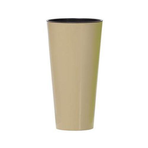 Prosperplast Donica tubus slim shine cappuccino
