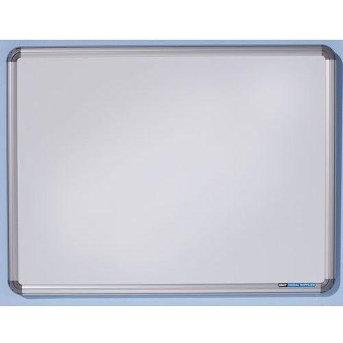 Tablica ścienna design, lakierowanie na kolor biały, szer. x wys. 600x450 mm. wy marki Office akktiv