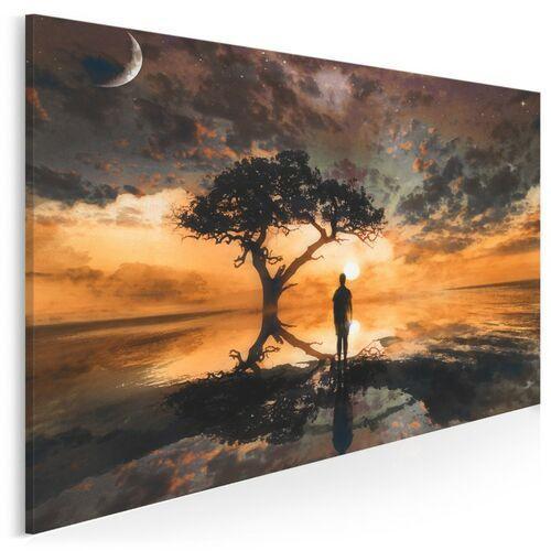 Widnokrąg wzruszeń - nowoczesny obraz do sypialni, 23501