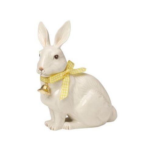 - easter bunnies figurka porcelanowa zajączek siedzący marki Villeroy & boch
