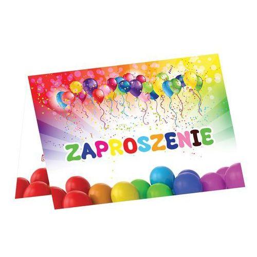 Ag firma Zaproszenie urodzinowe z balonikami - 1 szt.