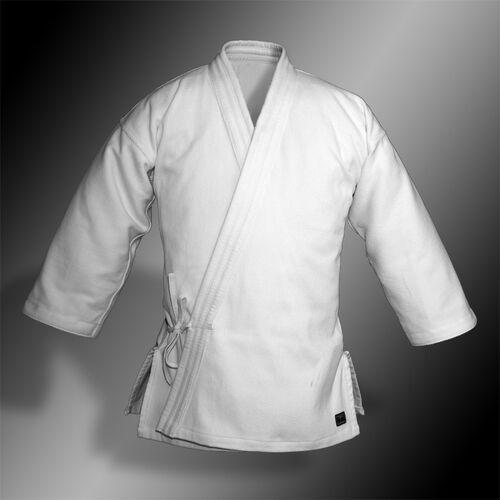 kimono do aikido TONBO - BAMBOO-LIGHT, białe, 420g/m2 - męskie, GABW420-M