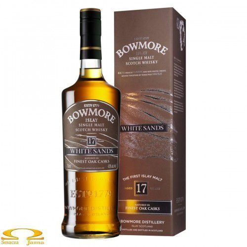 Whisky bowmore white sands 17 yo 0,7l marki Morrison bowmore distillery ltd