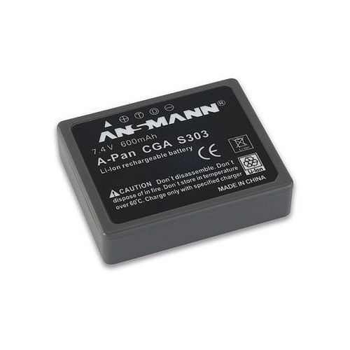 Ansmann Akumulator do panasonic a-pan cga s303 (600 mah) (4013674229437)