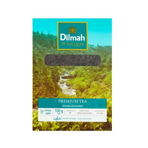 100g premium tea herbata liściasta czarna klasyczna marki Dilmah