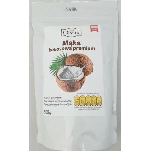Ol'vita Mąka kokosowa premium 500g - (5903111707323)