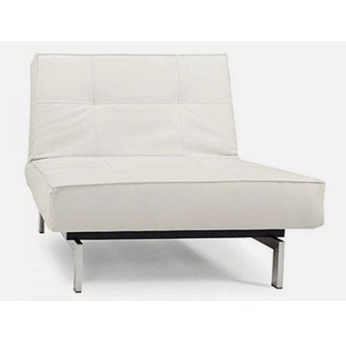 Fotel Splitback biały 588 nogi chromowane  (741011588-741011-0-2, marki INNOVATION iStyle do zakupu w sfmeble.pl