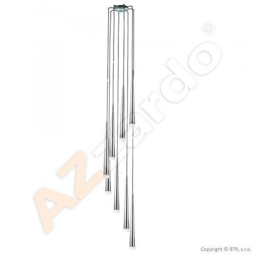Azzardo Stylo 8 AZ0161 MD1220A-8 Lampa wisząca zwis 8x40W G9 czarny - NEGOCJUJ CENĘ (5901238401612)