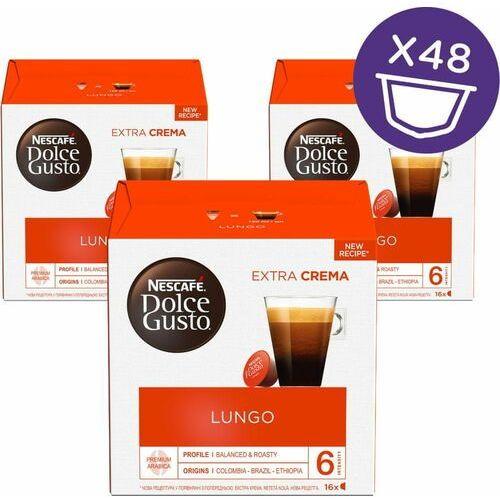 NESCAFÉ kawa w kapsułkach Dolce Gusto® Caffe Lungo trójpak (7613037933628)