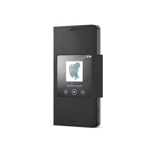 Etui scr26 do xperia z3 compact czarny marki Sony