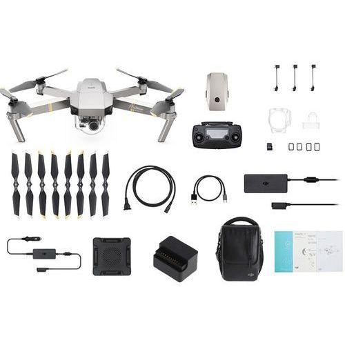 Dron DJI Mavic Pro Platinum Combo CP.PT.00000065.01 kolor szary