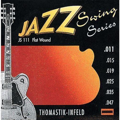 Thomastik JS110 (676707) Struny do gitary elektrycznej Jazz Swing Series Nickel Flat Wound Komplet