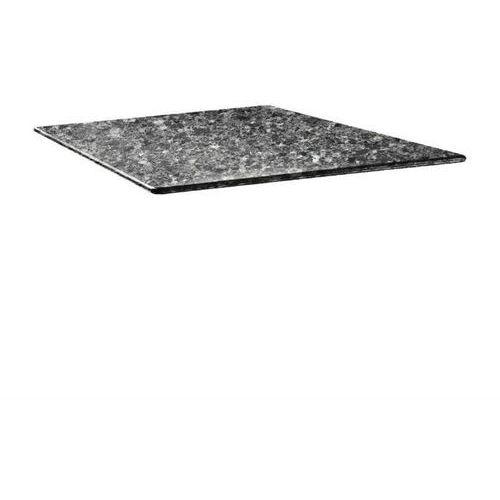 Blat kwadratowy czarny granit | różne wymiary marki Topalit
