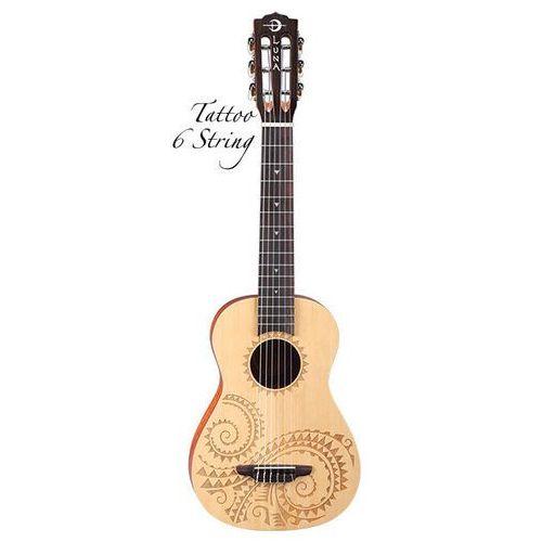Luna ukulele - 6 strunowe tat6