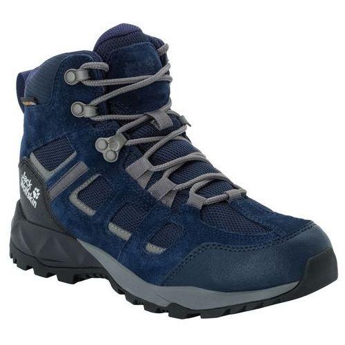 Jack wolfskin Damskie buty trekkingowe vojo hike xt texapore mid w dark blue / purple - 5,5 (4060477344287)