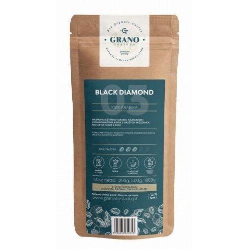 kawa ziarnista grano tostado black diamond 1000g marki Grano tostado