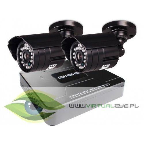 Zestaw startowy AHD, 2x Kamera HD/IR20, Rejestrator 4ch, Z913 (7281384)