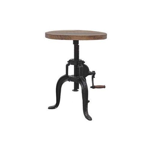 Industrialny stolik kawowy Farrier 1 - sprawdź w Seart - Meble z Drewna