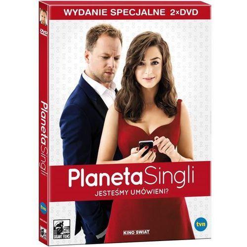 Kino świat Planeta singli wydanie specjalne 2dvd - 35% rabatu na drugą książkę!