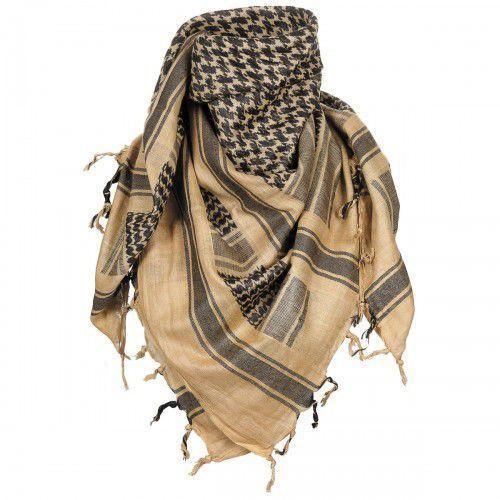 Shemagh - arafatka, 100% bawełna, piaskowa
