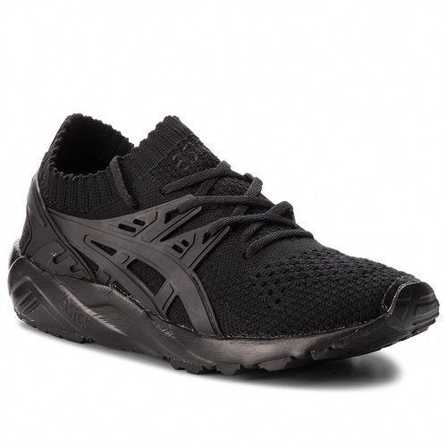 Asics Sneakersy - tiger gel-kayano trainer knit h705n black/black 9090